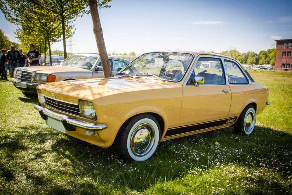 Opel Kadett C auf der Youngtimer Show in Herten