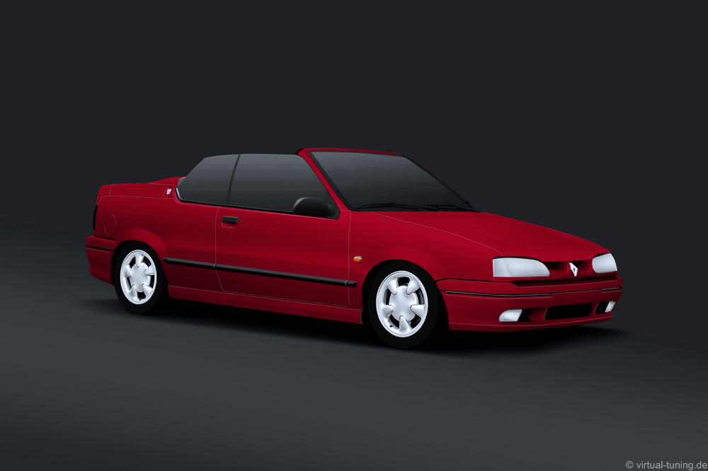 Renault 19 RSI Cabrio by virtual-tuning.de