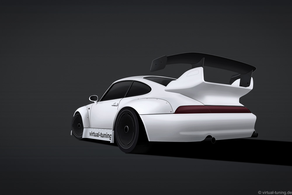 Porsche 911 (993) Widebody by virtual-tuning.de