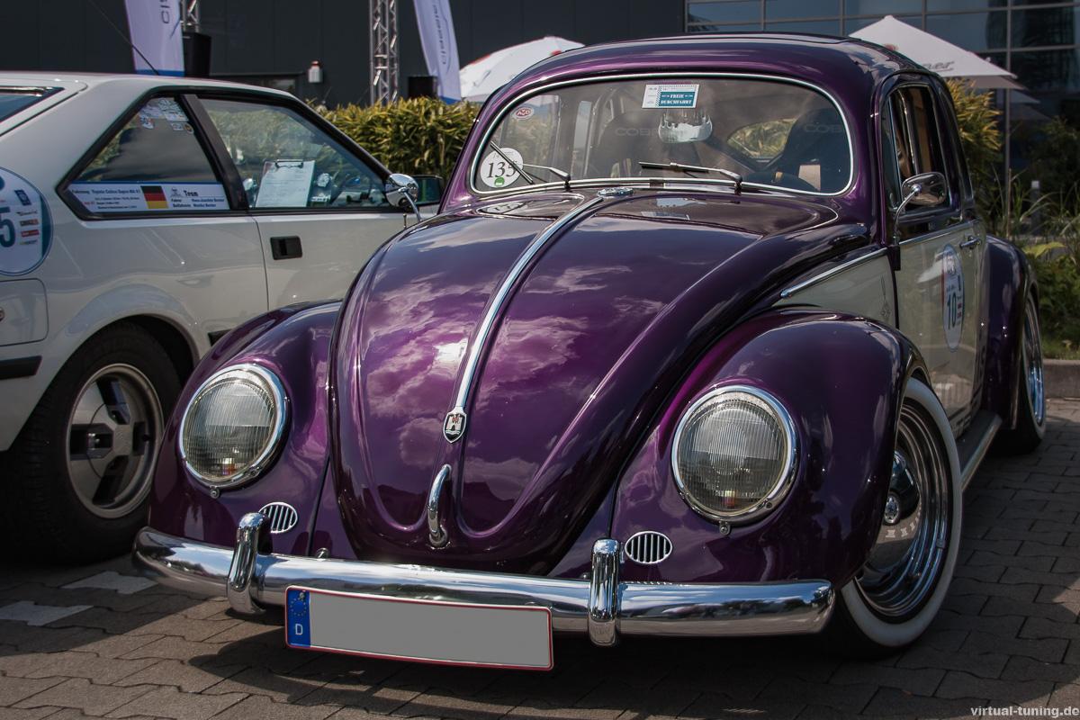 VW Käfer bei der Rallye 604