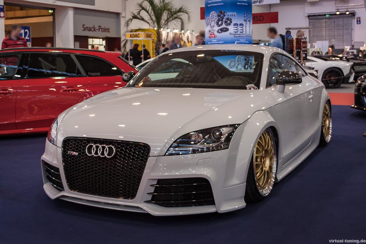Audi TT RS auf der Essen Motorshow 2015