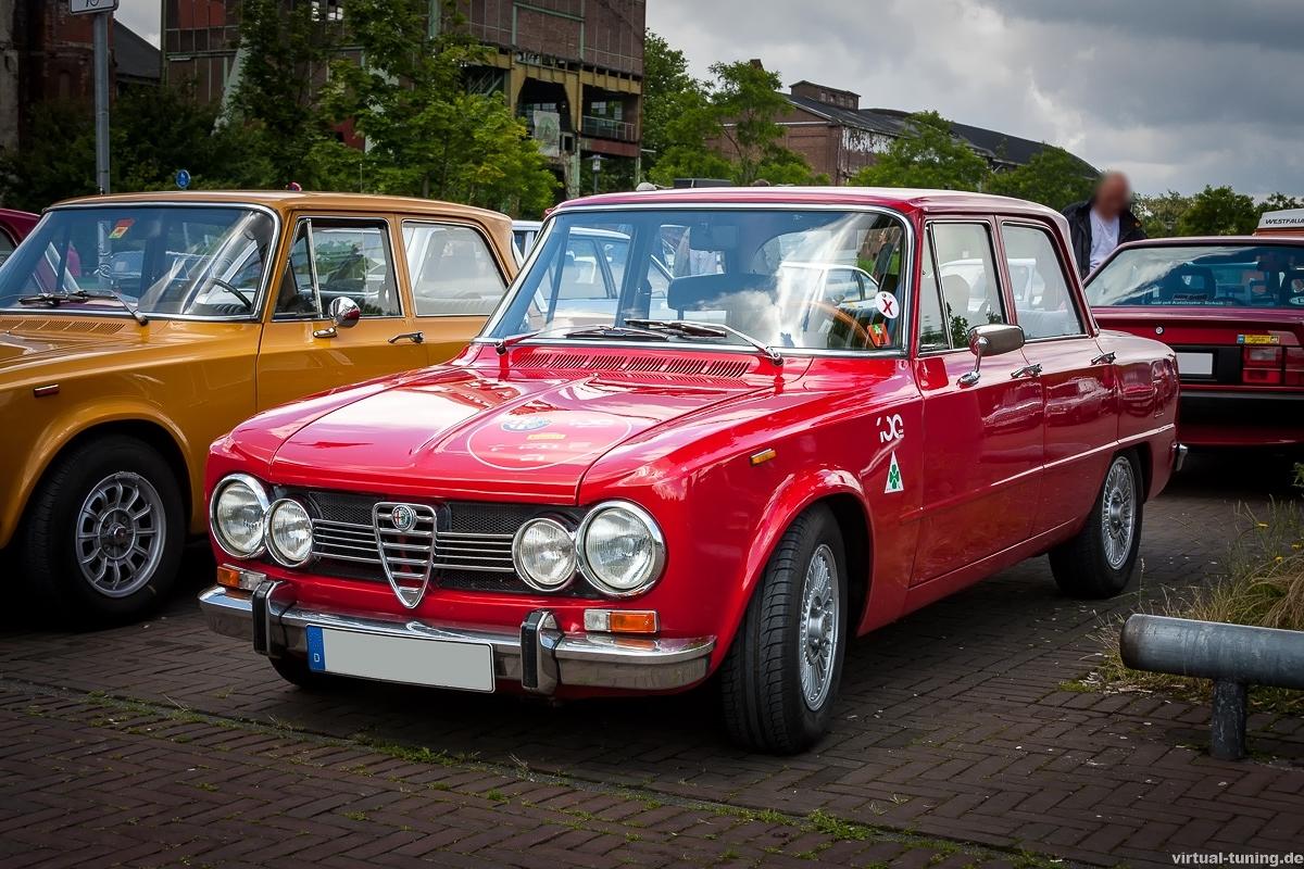 Alfa Romeo Giulia beim Oldtimertreff Ruhr (Juni)