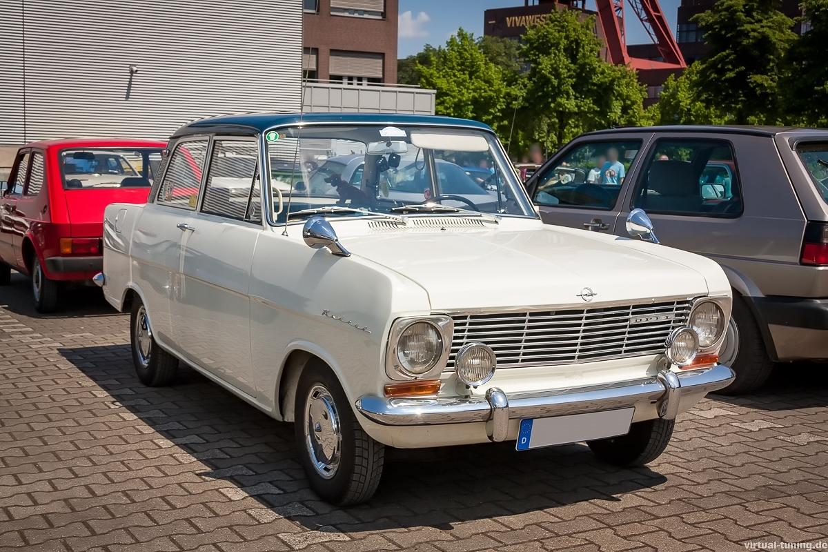 Opel Kadett A bei der Nordstern Klassik in Gelsenkirchen