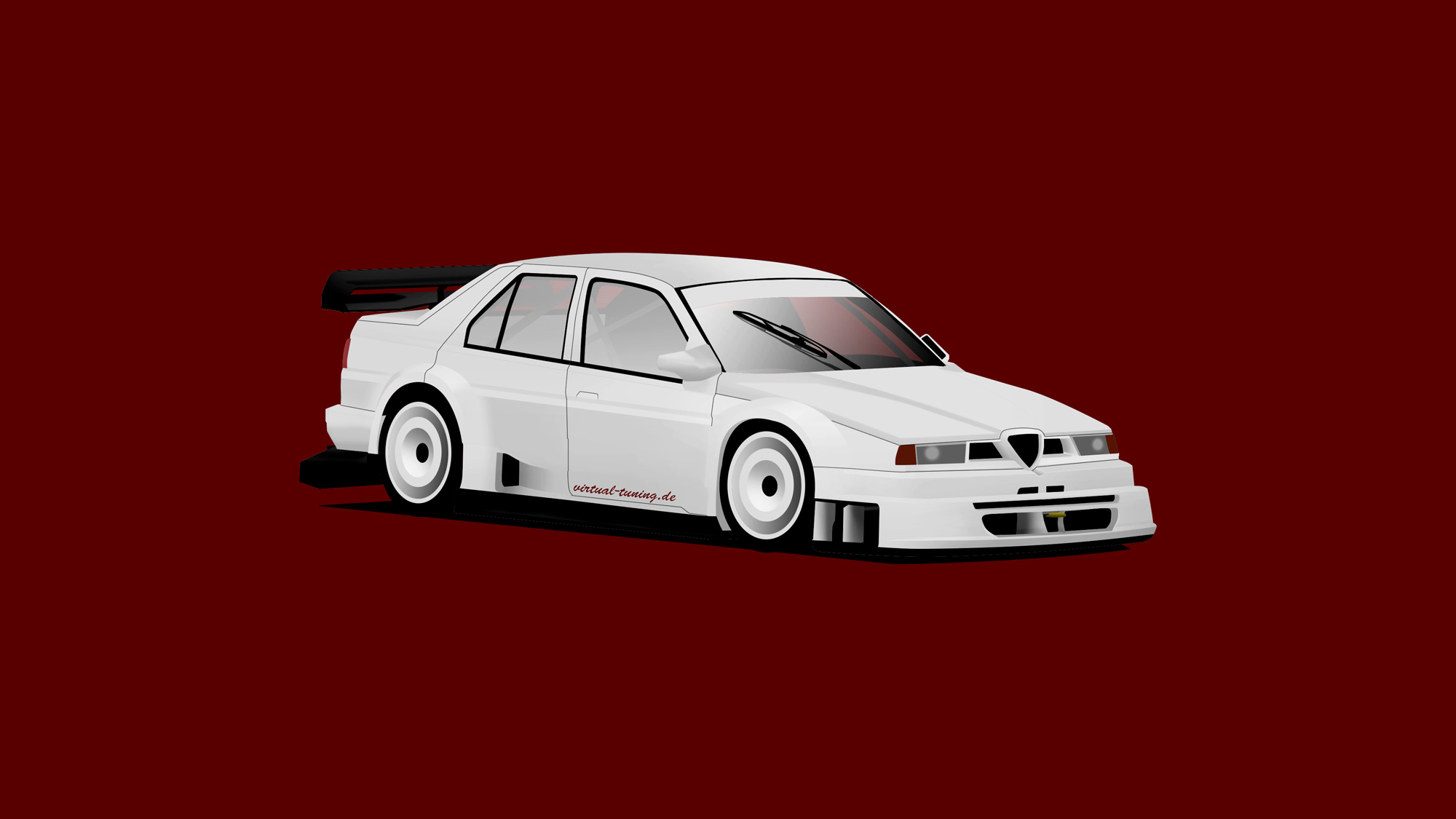 Alfa Romeo 155 V6 TI by virtual-tuning.de