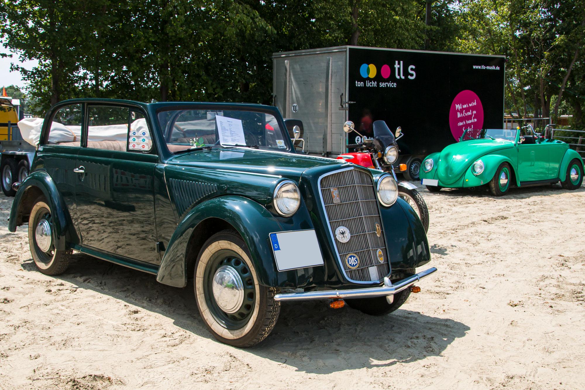 Opel und VW - 13. Oldtimertreffen der Schlepperfreunde Olfen