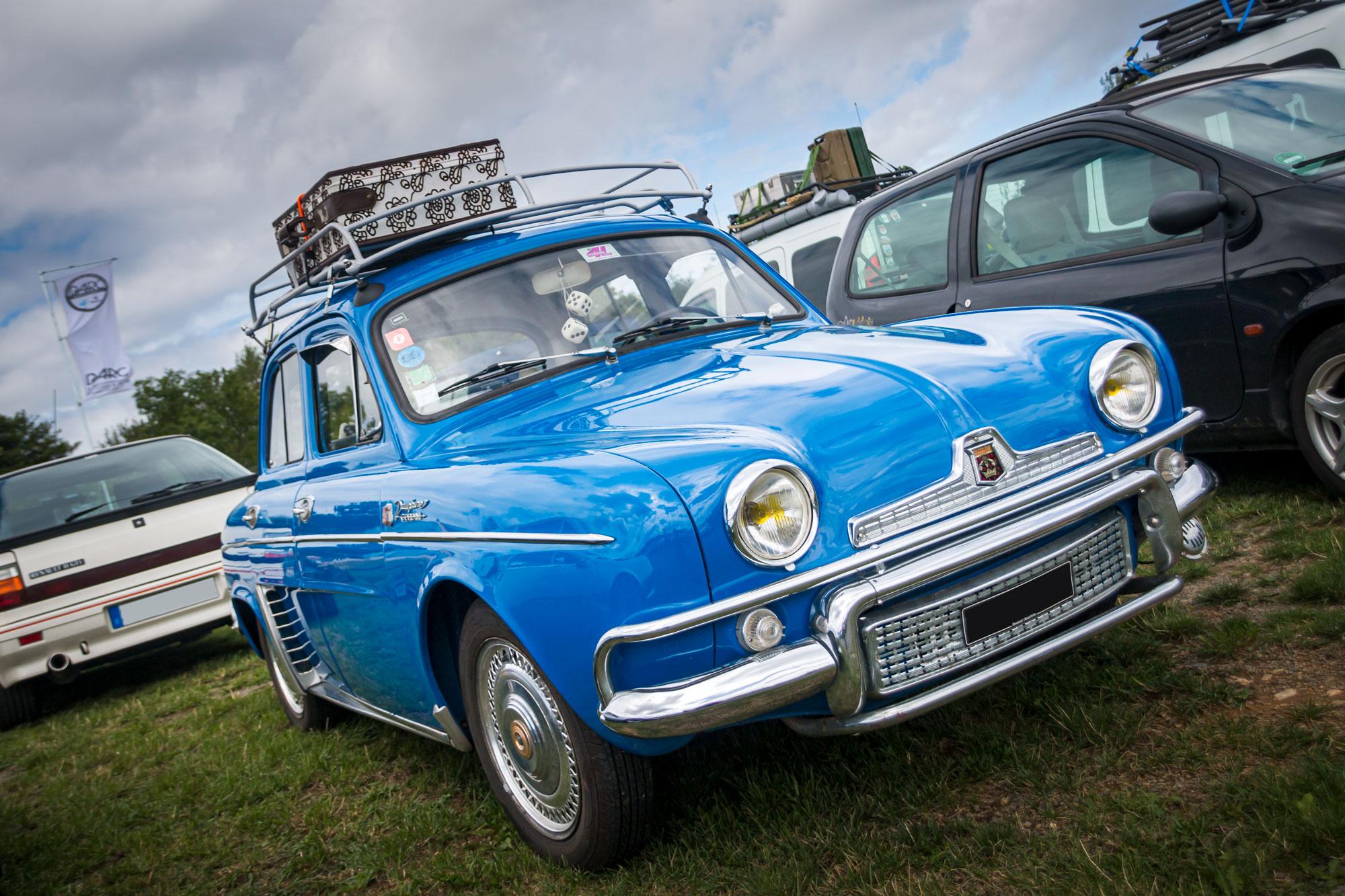 Renault Dauphine - D'ARC Sommerfest 2019 am Nürburgring