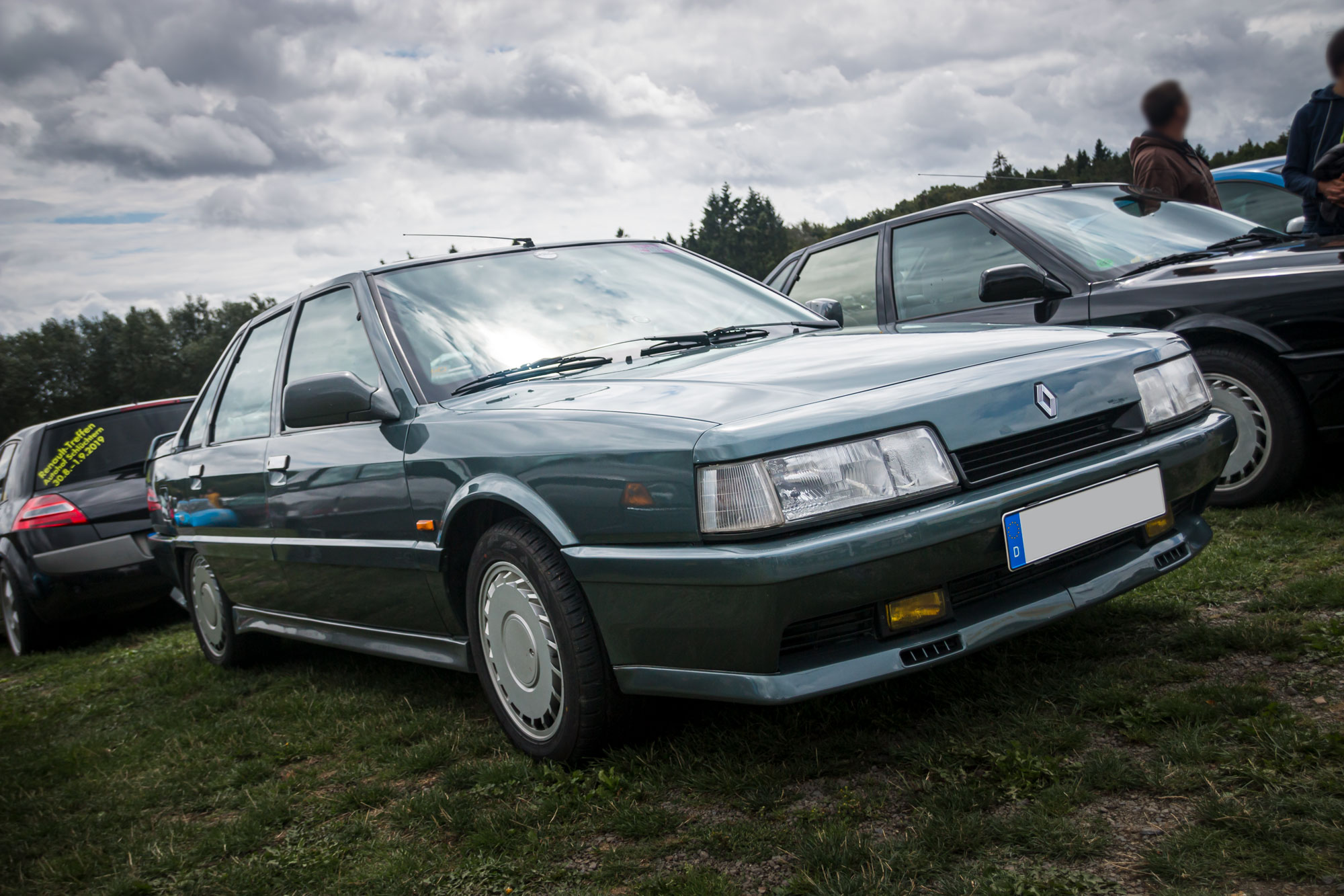 Renault 21 Turbo - D'ARC Sommerfest 2019 am Nürburgring