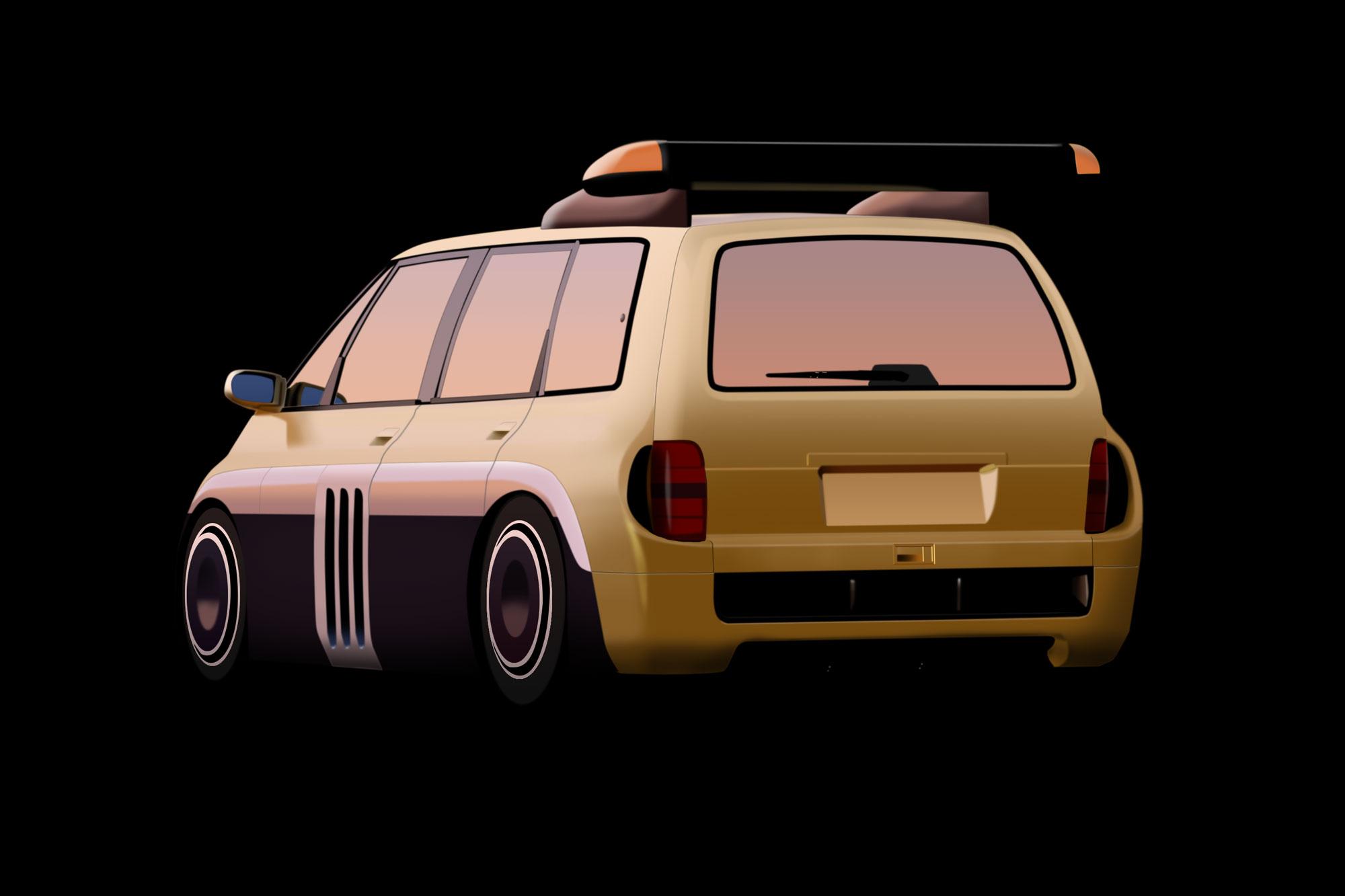 Renault Espace F1 - virtual-tuning.de - #vtstegofo