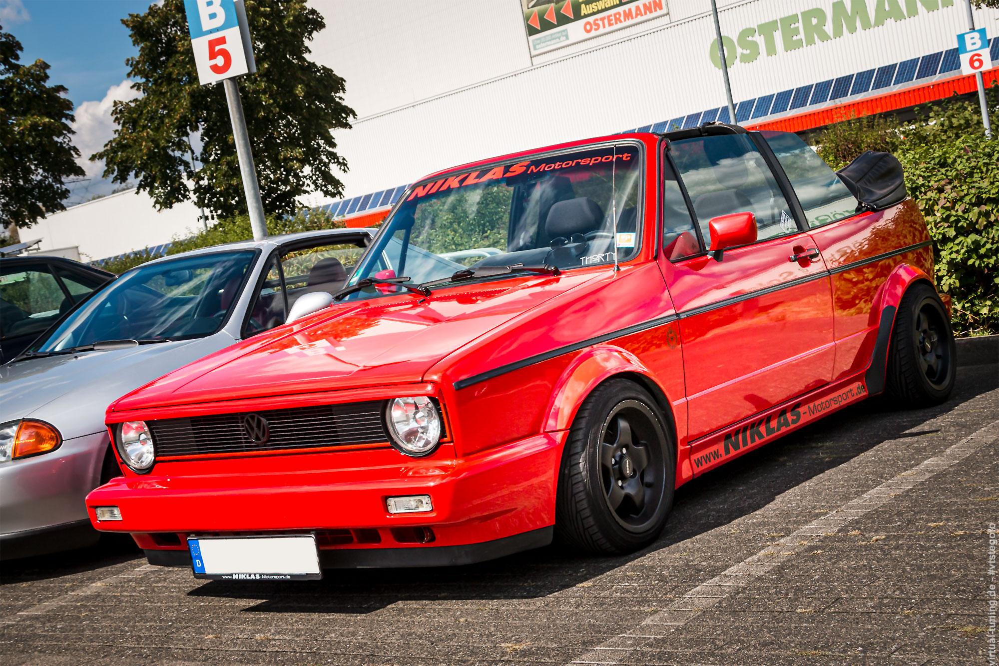 Volkswagen Golf 1 Cabrio - 3. ADAC Youngtimertreffen-Ruhr