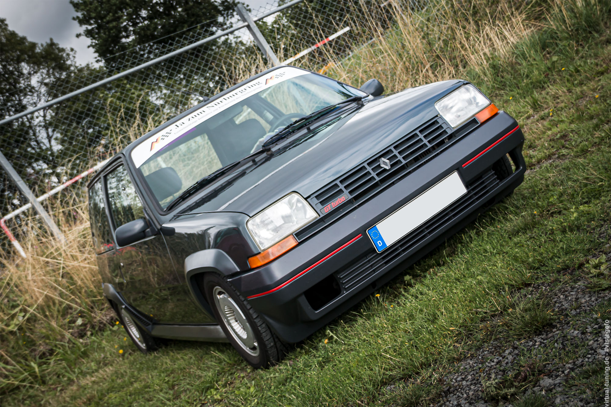 Renault 5 GT Turbo - D'ARC Sommerfest 2019 am Nürburgring