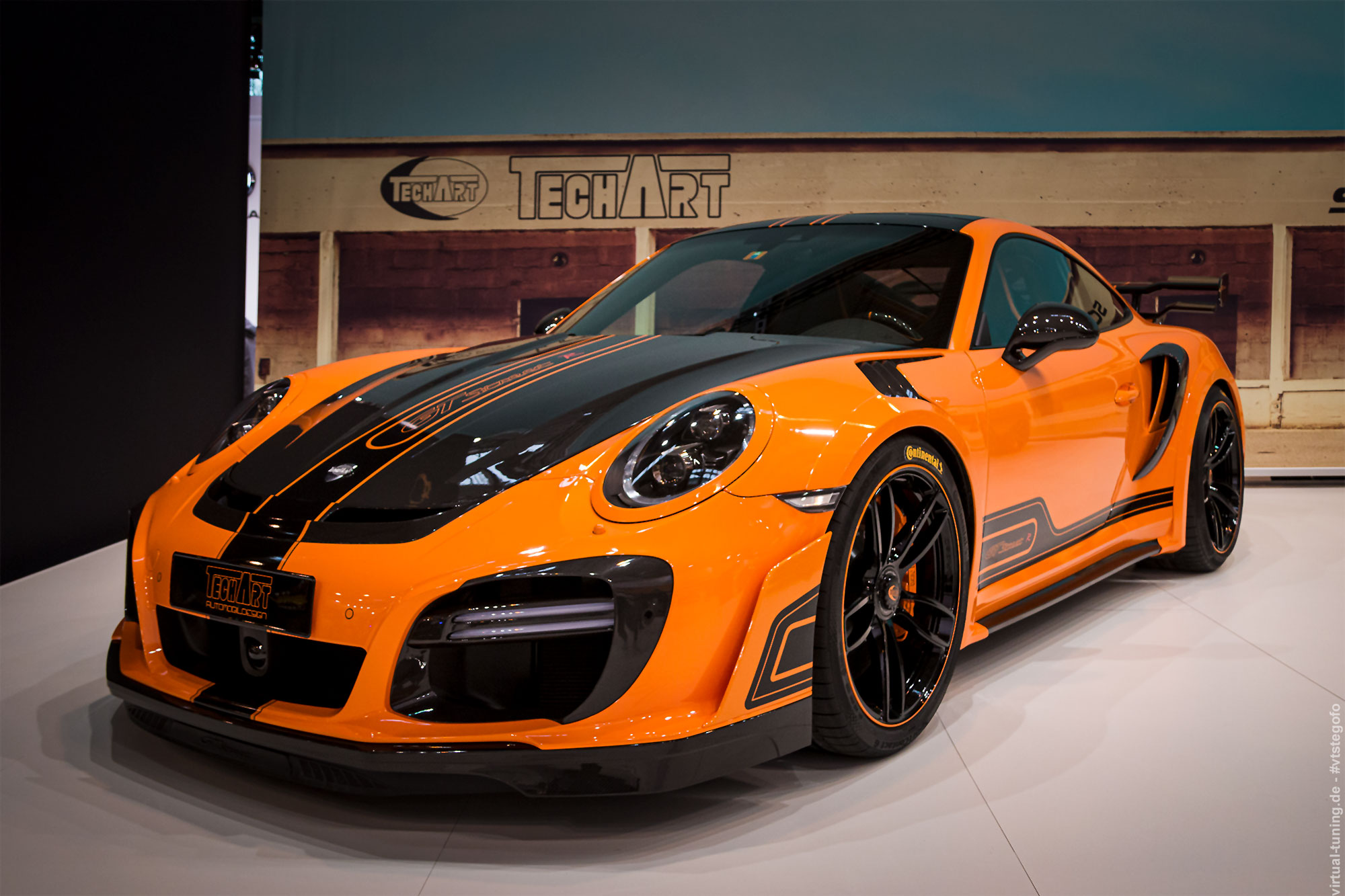 Techart GTstreet R (Porsche 911 Turbo S) - Essen Motor Show 2018