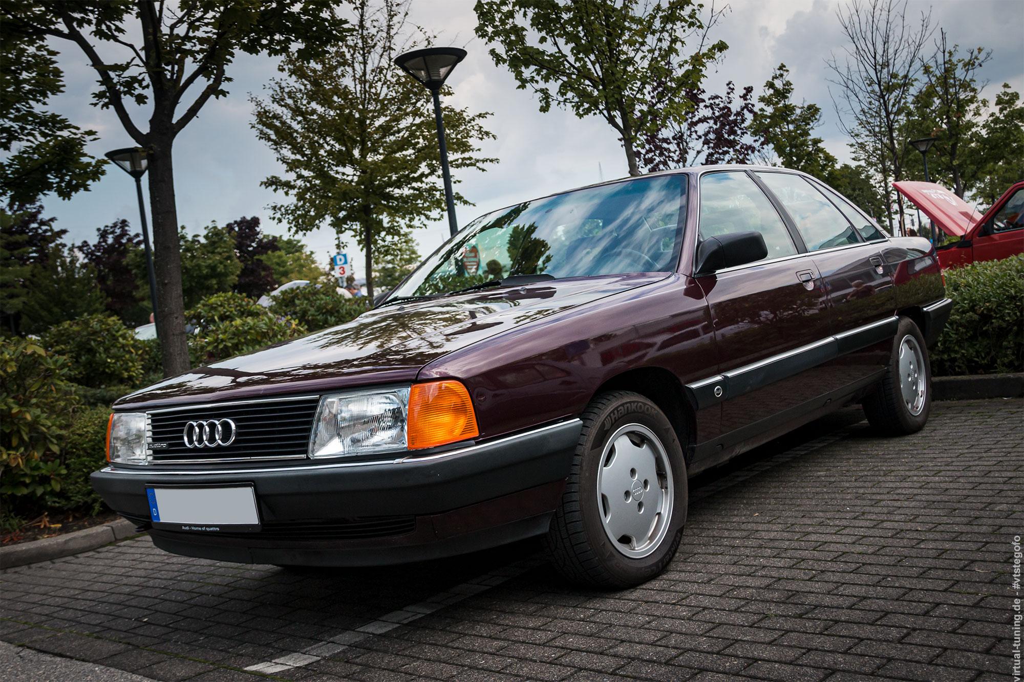 Audi 100 - 2. ADAC Youngtimertreffen-Ruhr 2017