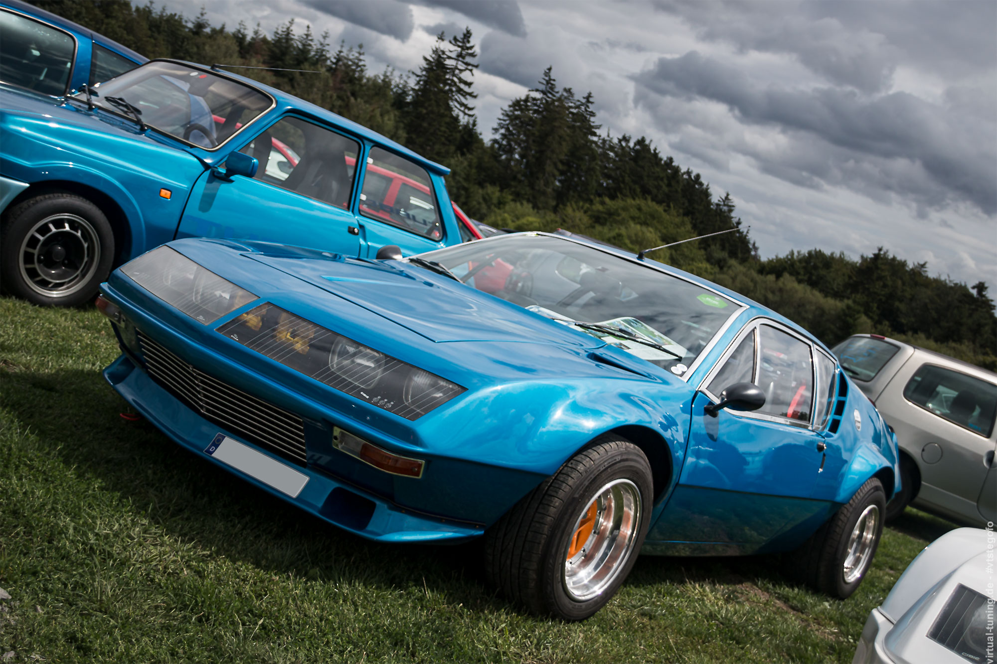 Alpine A310 - D'ARC Sommerfest 2019 am Nürburgring