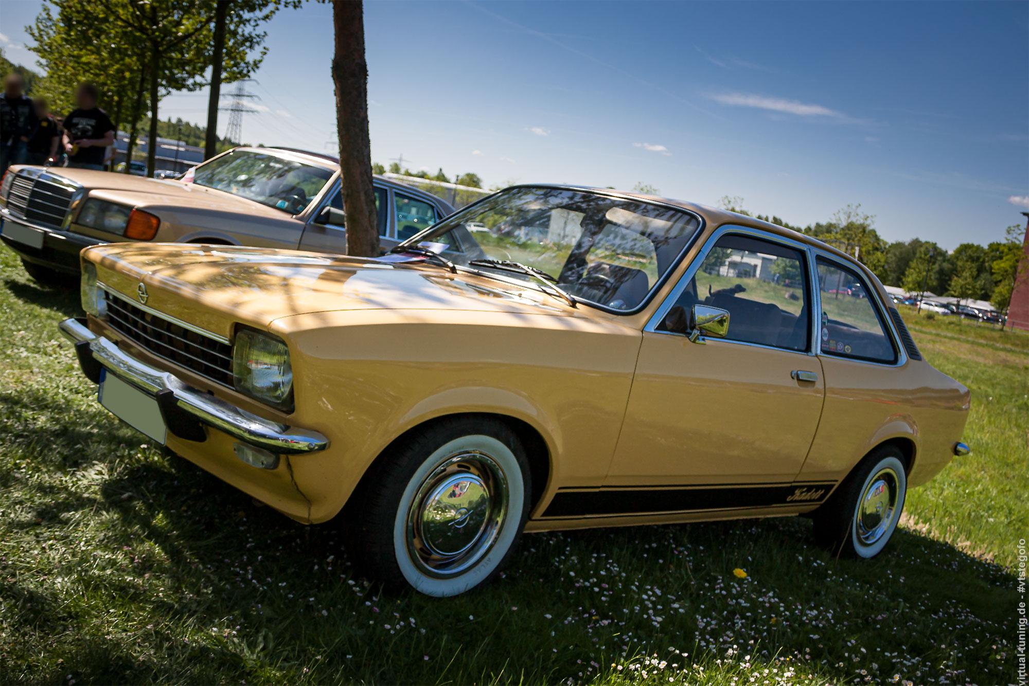 Opel Kadett C - Youngtimer Show in Herten 2015