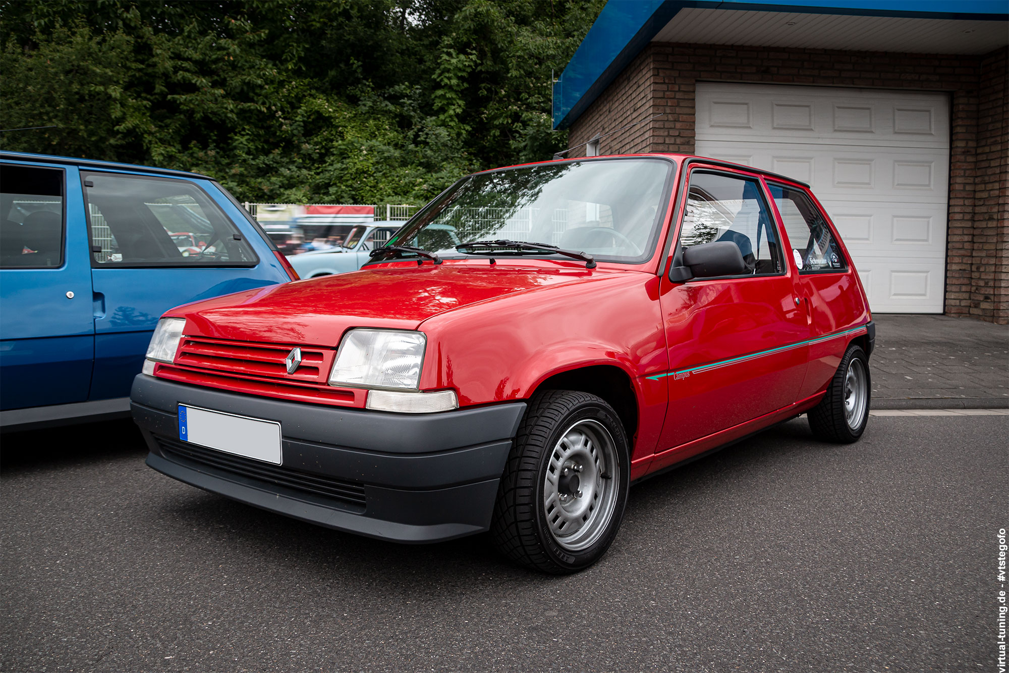 Renault 5 Campus - R.S. meets Cafe 477 (06-2020)