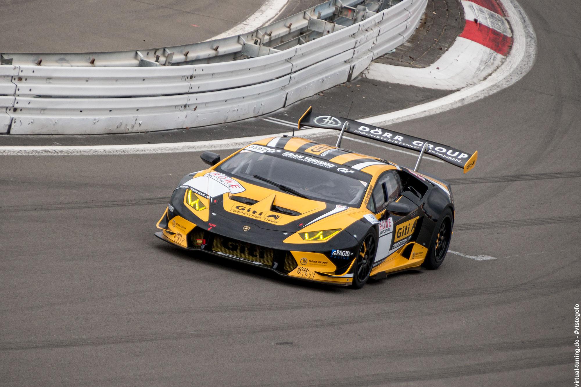 Lamborghini Huracán GT3 - Test- und Einstellfahrten am Nürburgring (3.2016)