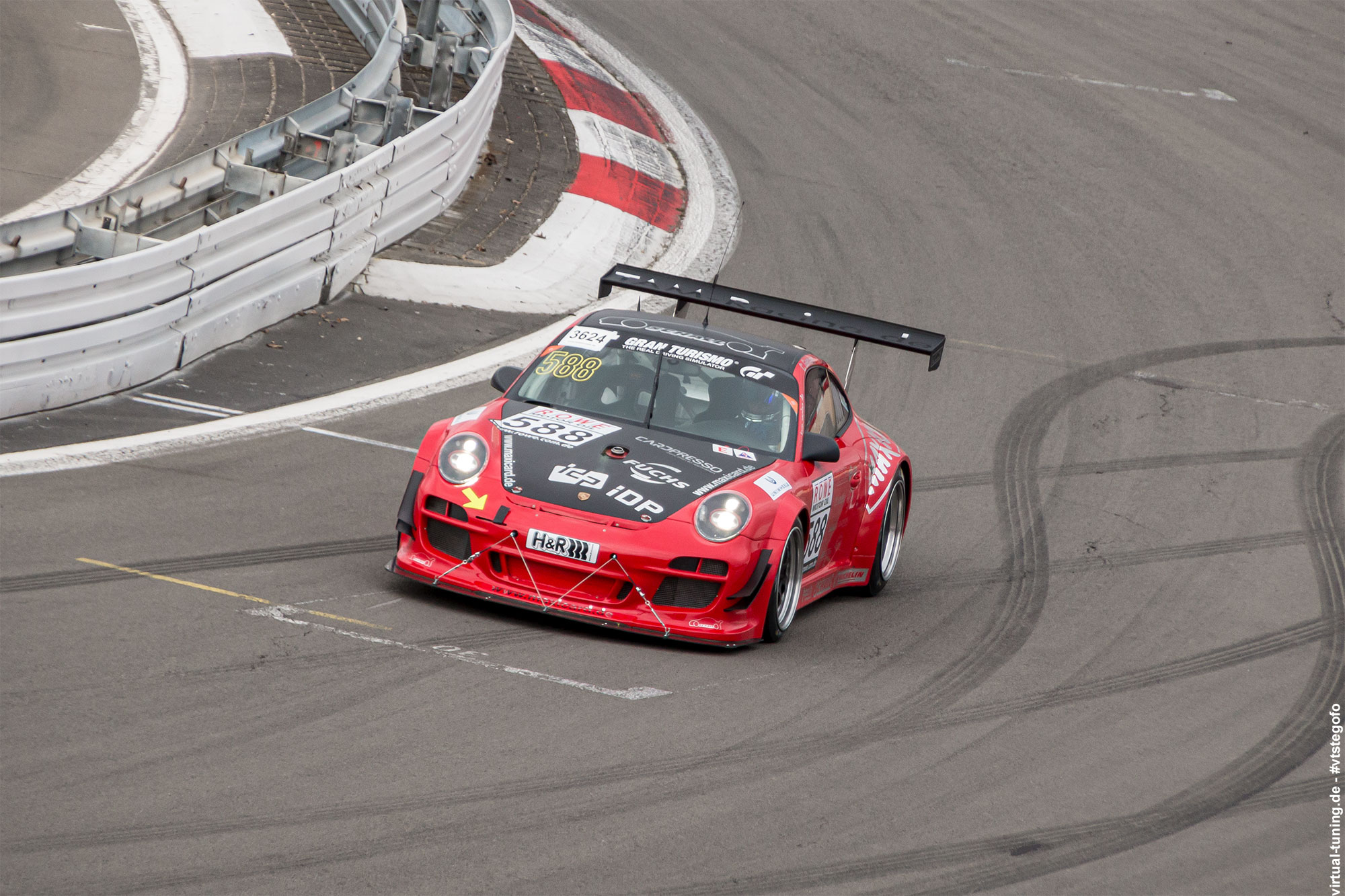 Porsche 911 - Test- und Einstellfahrten am Nürburgring (3.2016)