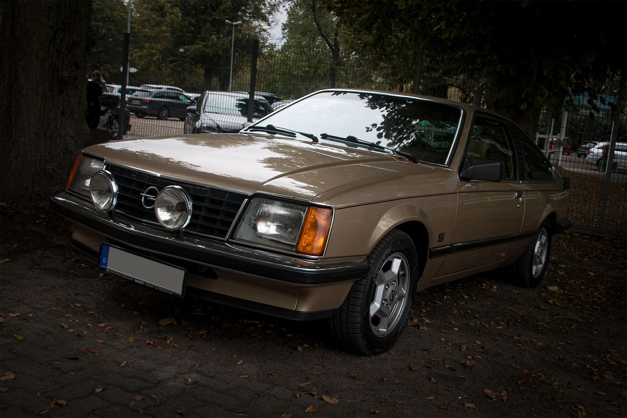 Opel Monza - Oldtimer/Youngtimer Frühstück - Galopprennbahn Dortmund