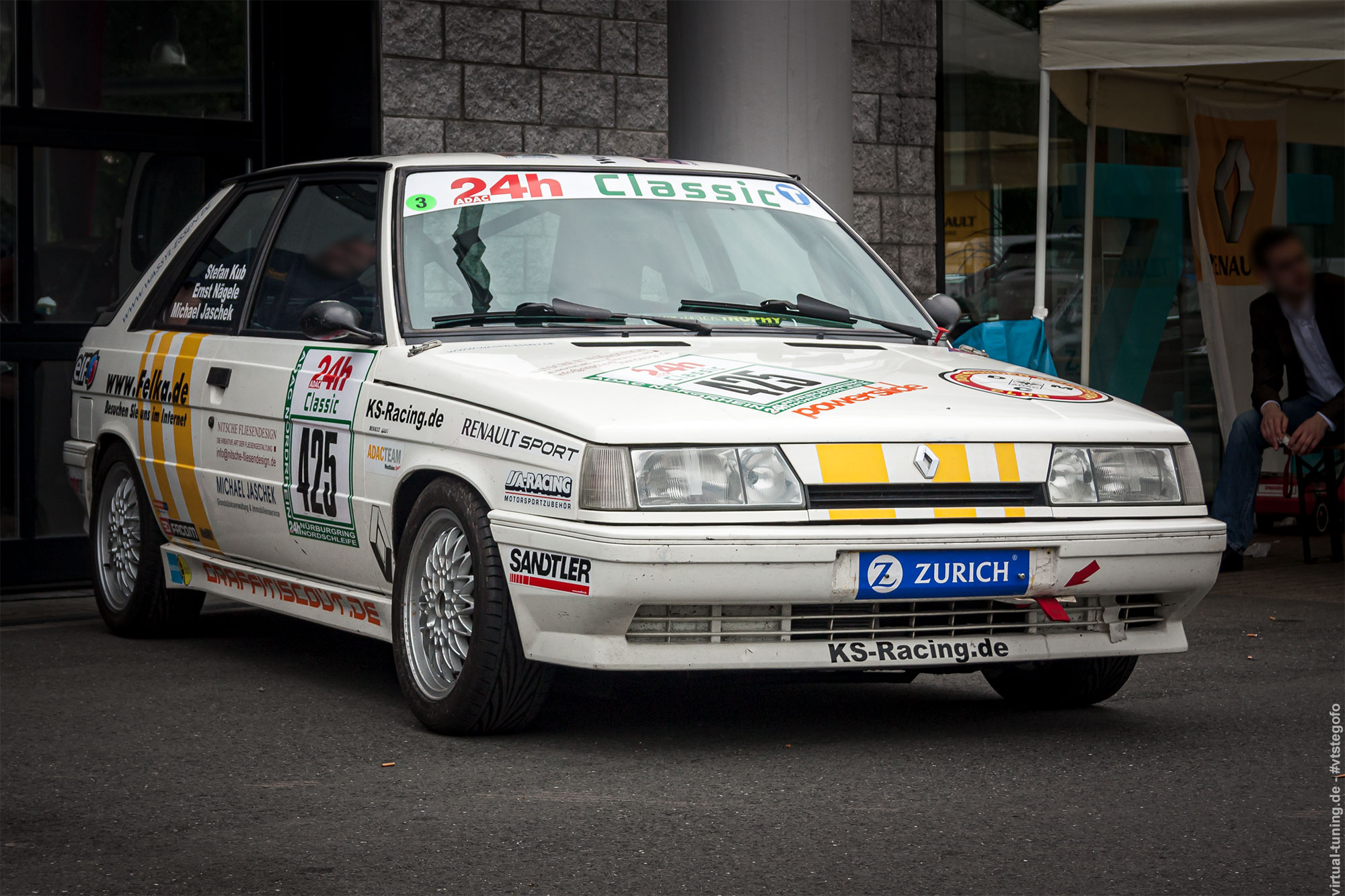 Renault 11 Turbo (KS-Racing) - Renault Treffen in Bochum 2013