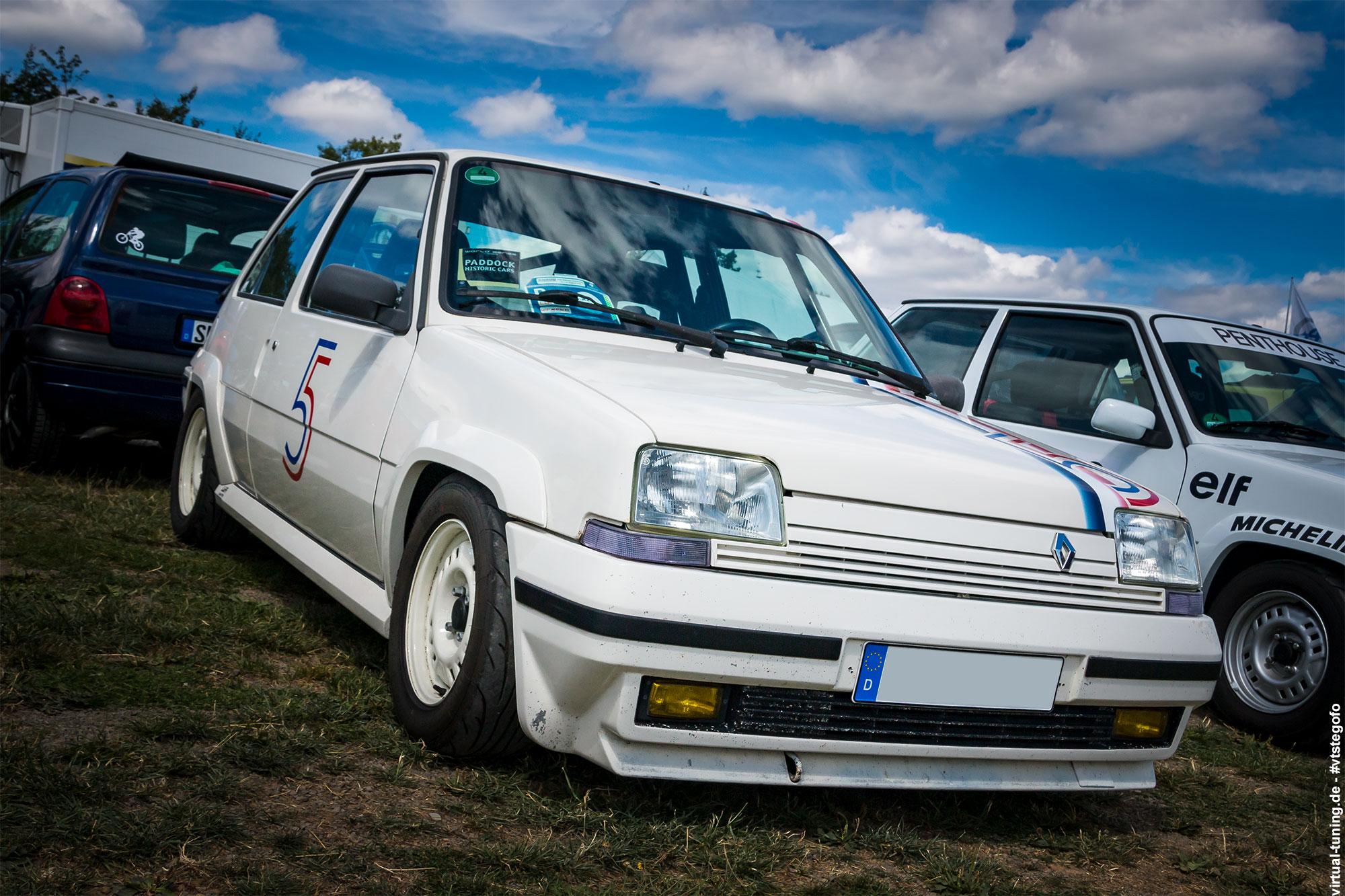 Renault 5 - D´ARC Sommertreffen 2018 am Nürburgring