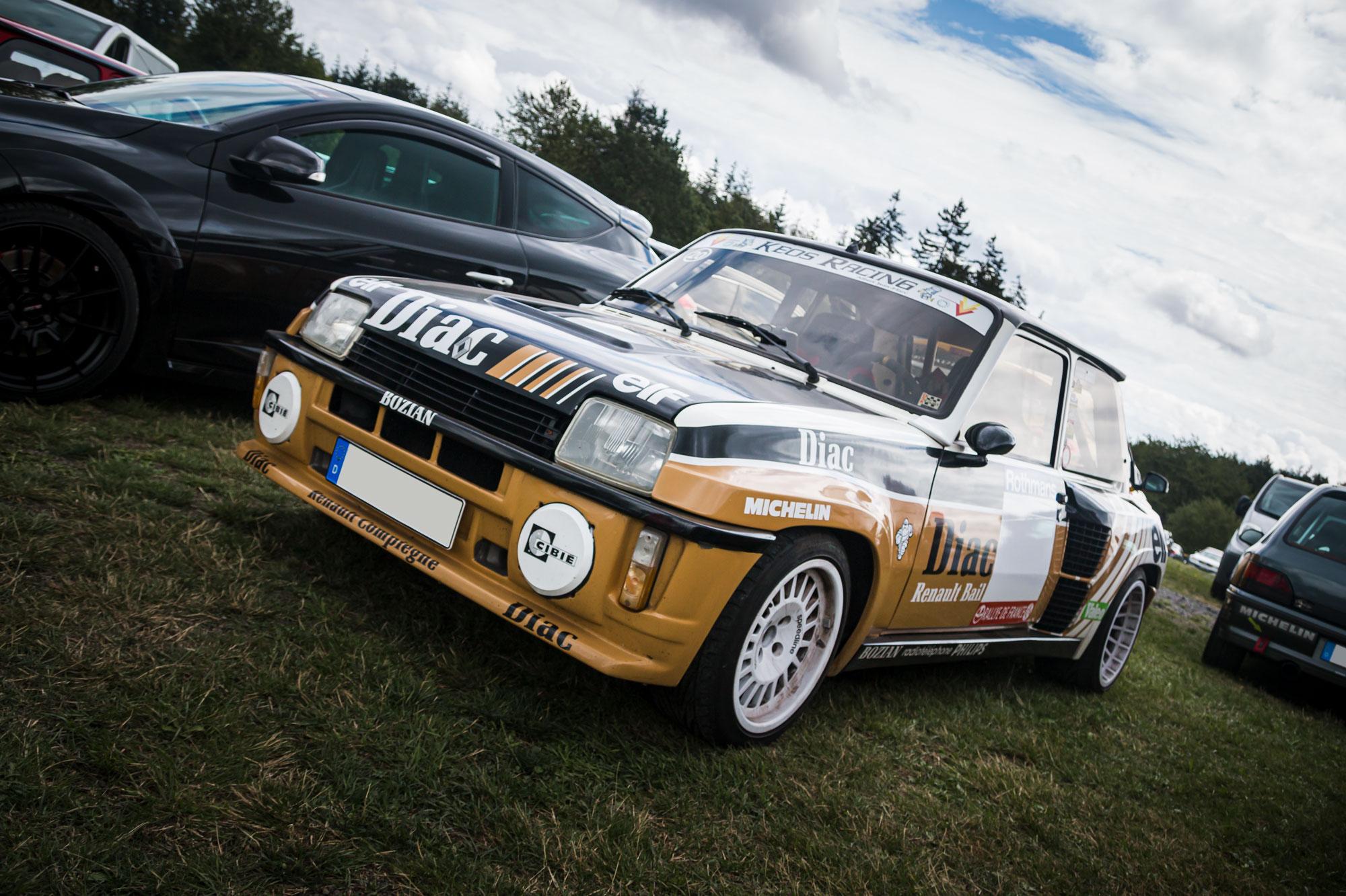 Renault 5 Turbo - D'ARC Sommerfest 2019 am Nürburgring