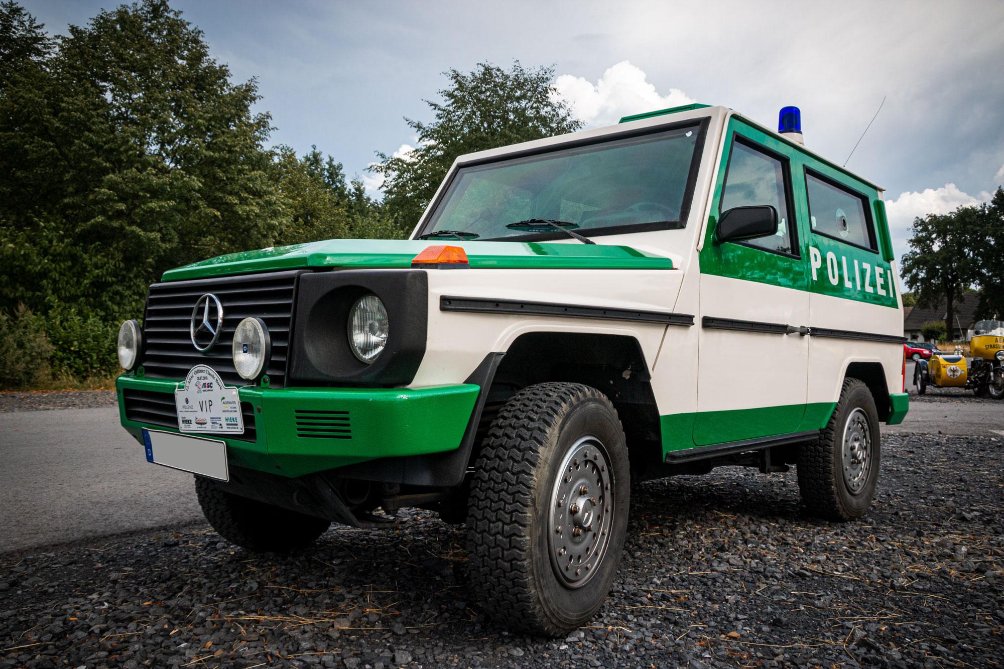 Mercedes Benz G (Sonderwagen 3) - 12. ADAC Oldtimer - Classic Bork