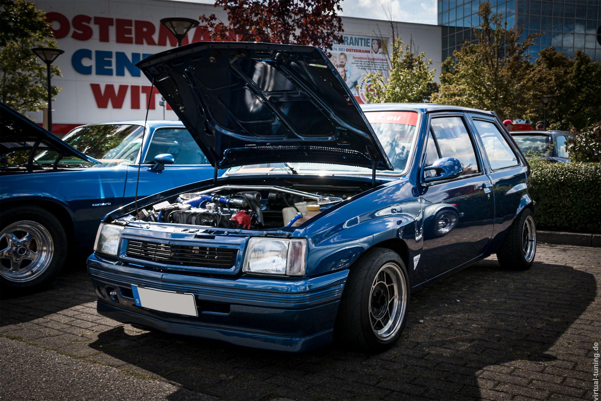 Opel Corsa A - 3. ADAC Youngtimertreffen-Ruhr
