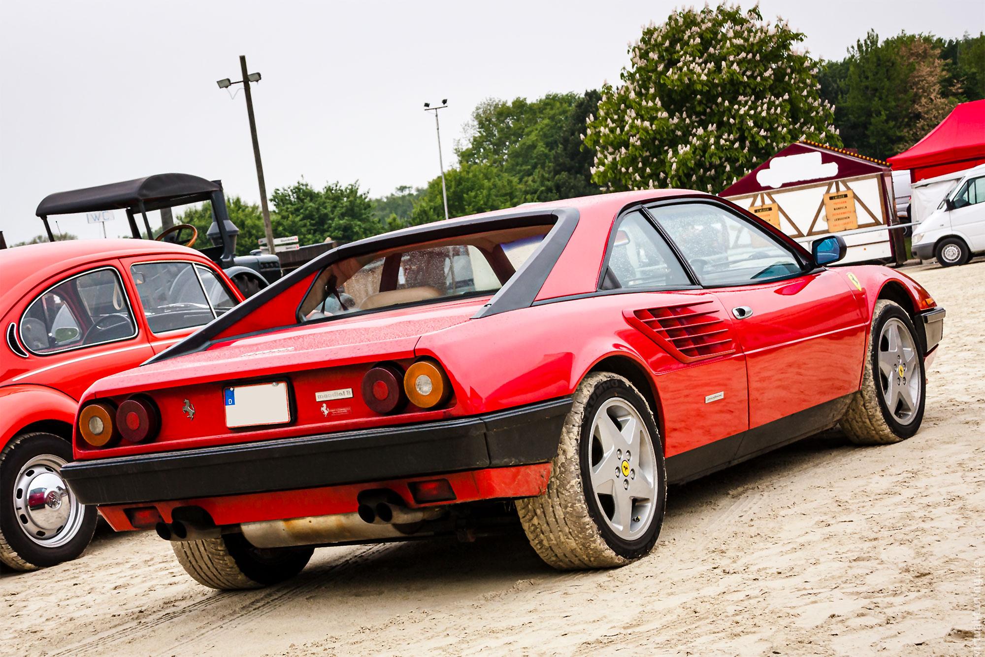 Ferrari Mondial - 11. Schlepper- und Oldtimertreffen in Olfen