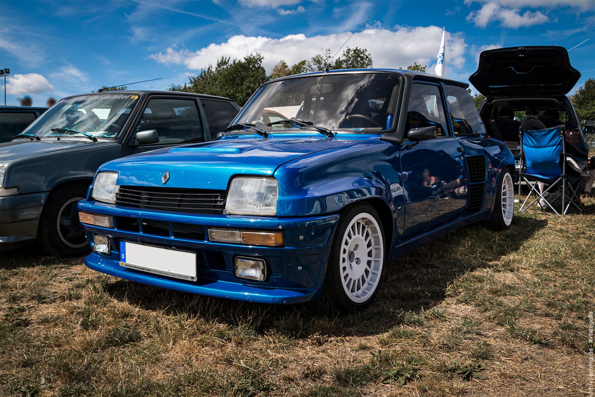 Renault 5 Turbo - D´ARC Sommertreffen 2018 am Nürburgring