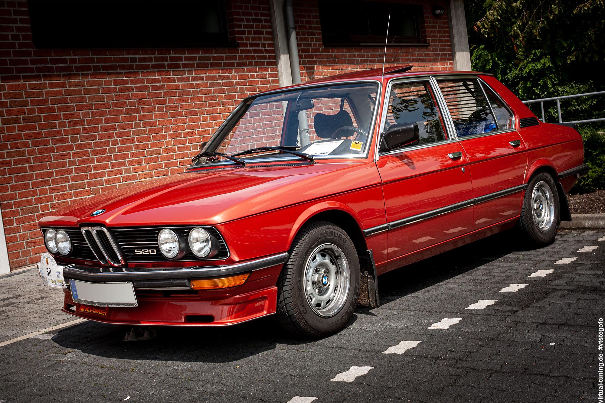 BMW 520 - Lüner Oldtimertreffen 2011