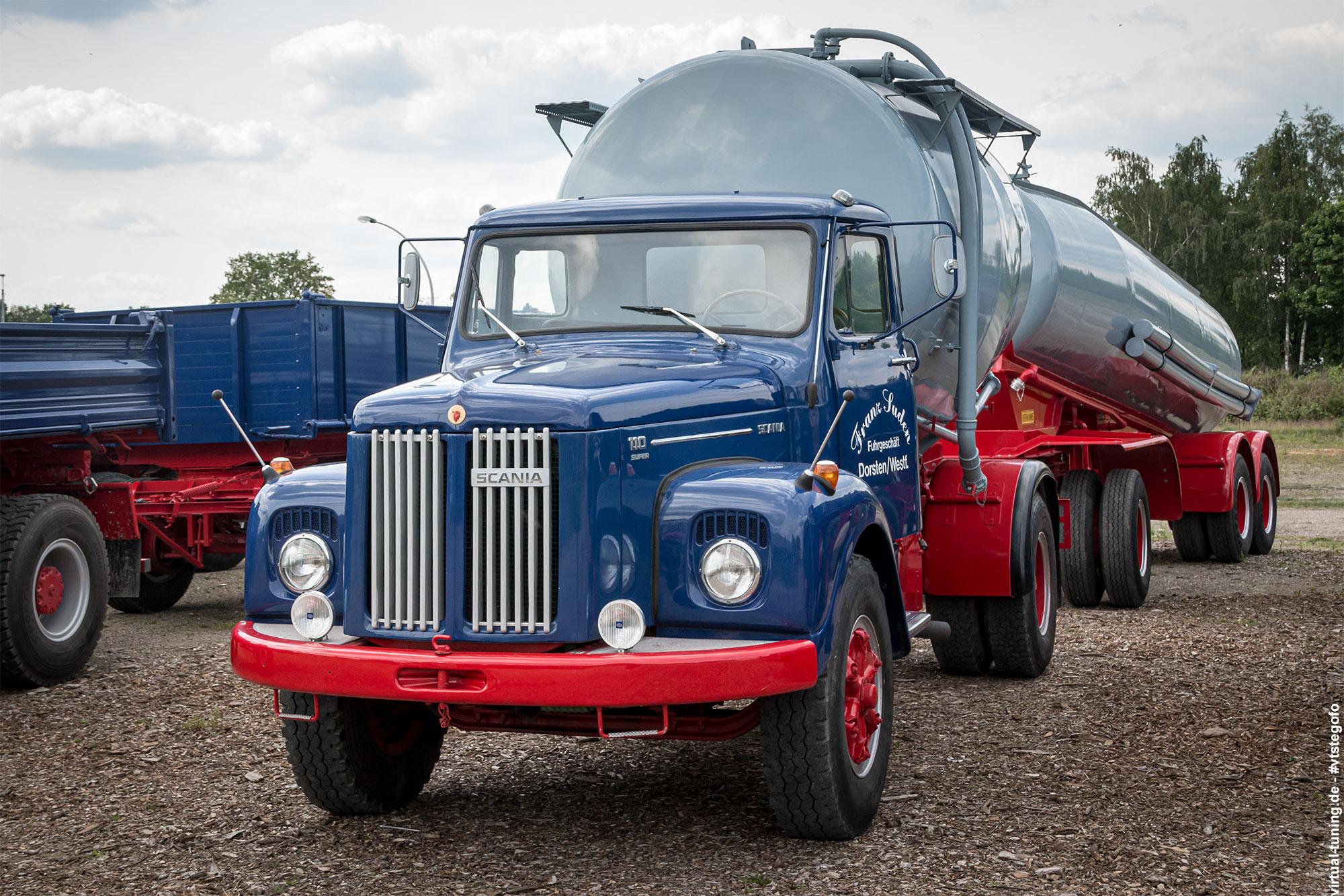 Scania - LKW-Oldtimer-Treffen 2017 in Dorsten