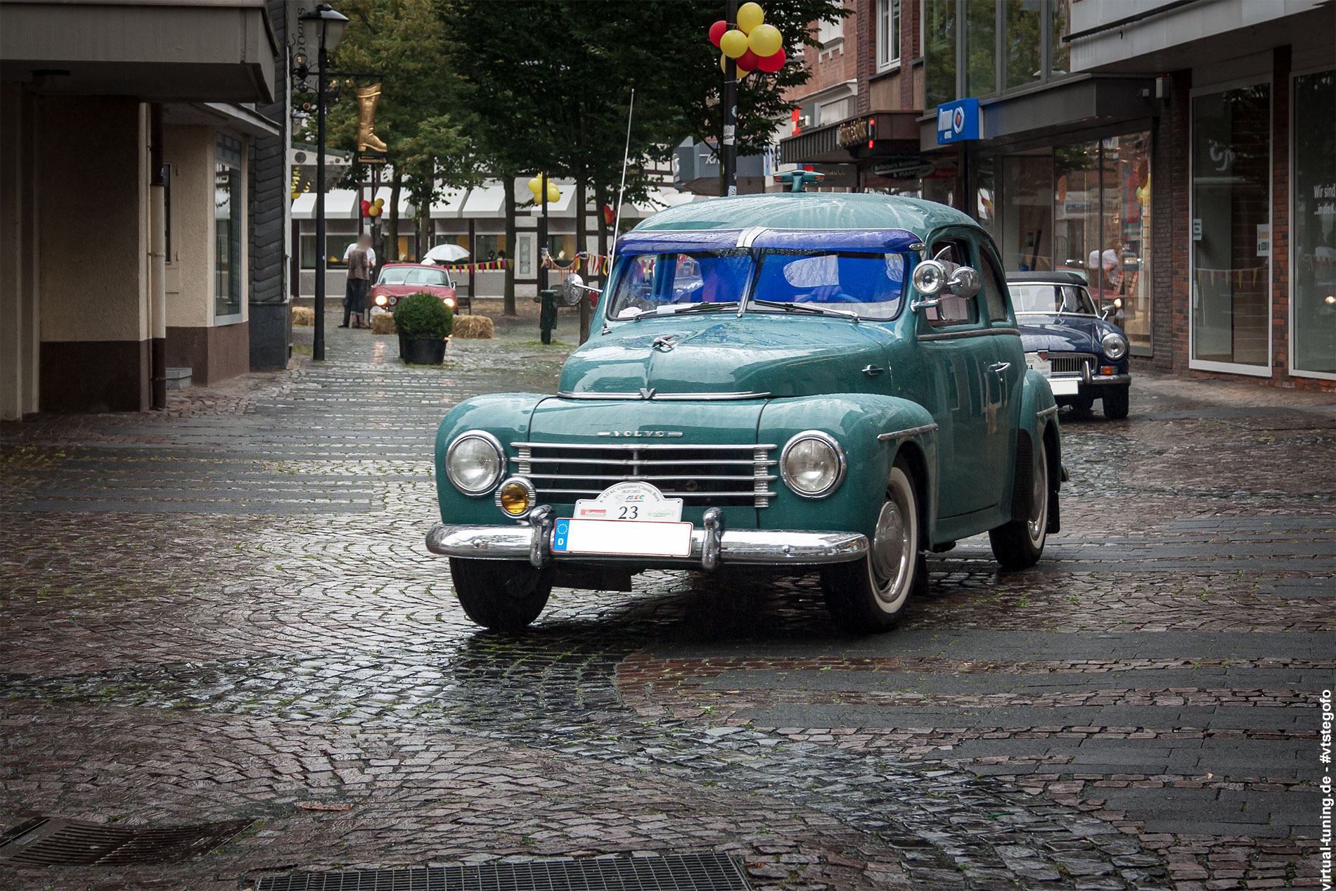 "Volvo PV544 ""Buckelvolvo"" - ADAC Oldtimer Classic Bork (07.2012)"