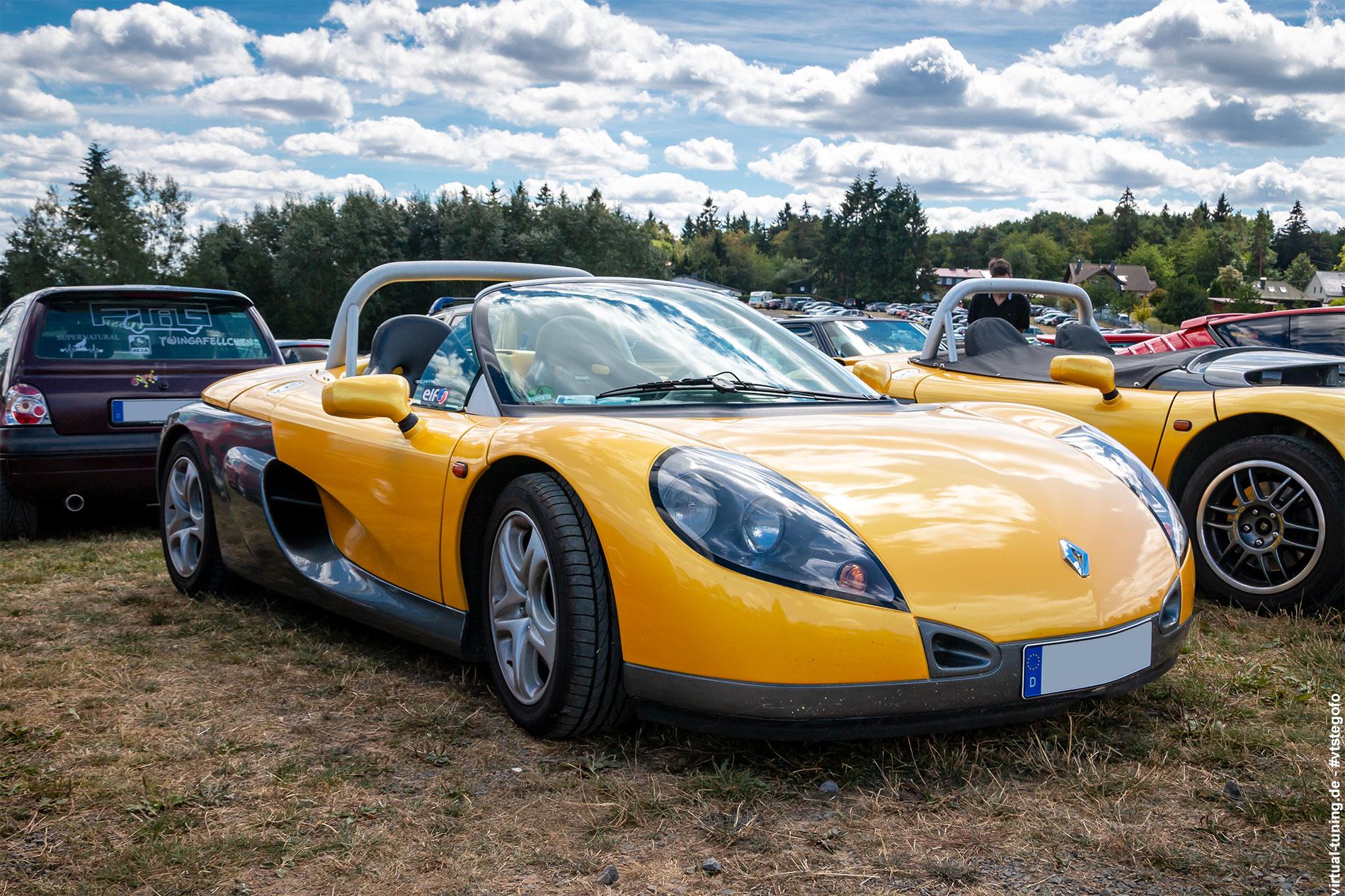 Renault Spider - D´ARC Sommertreffen am Nürburgring (08.2018)