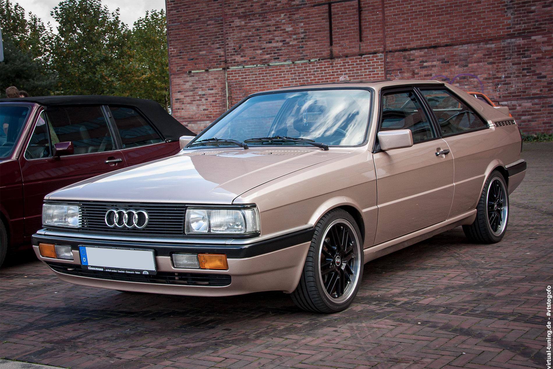 Audi Coupé - Oldtimertreff Ruhr (09.2016)