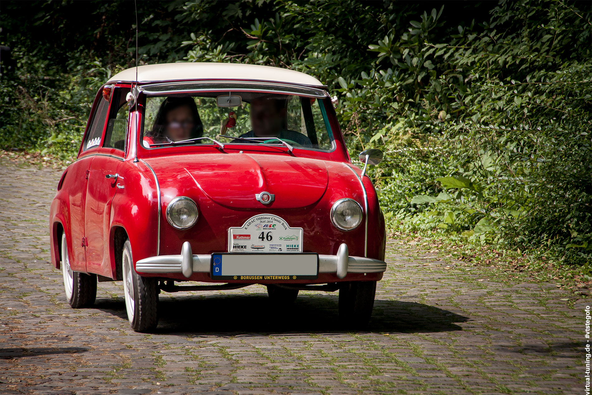 Goggomobil - 8. ADAC Oldtimer - Classic Bork (07.2014)