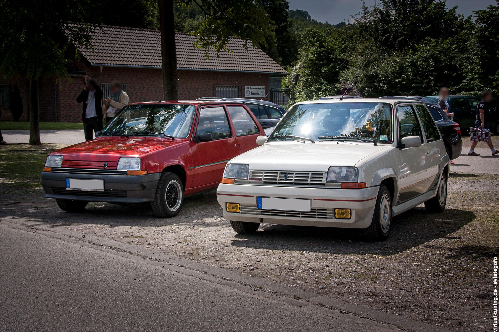 Renault R5 Campus und R5 GTT - Renault 16 Treffen (05.2014)