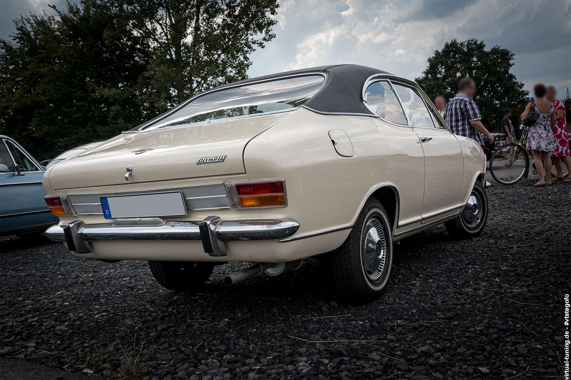 "Opel Kadett B Coupe ""Olympia"" - 12. ADAC Oldtimer - Classic Bork (07.2018)"