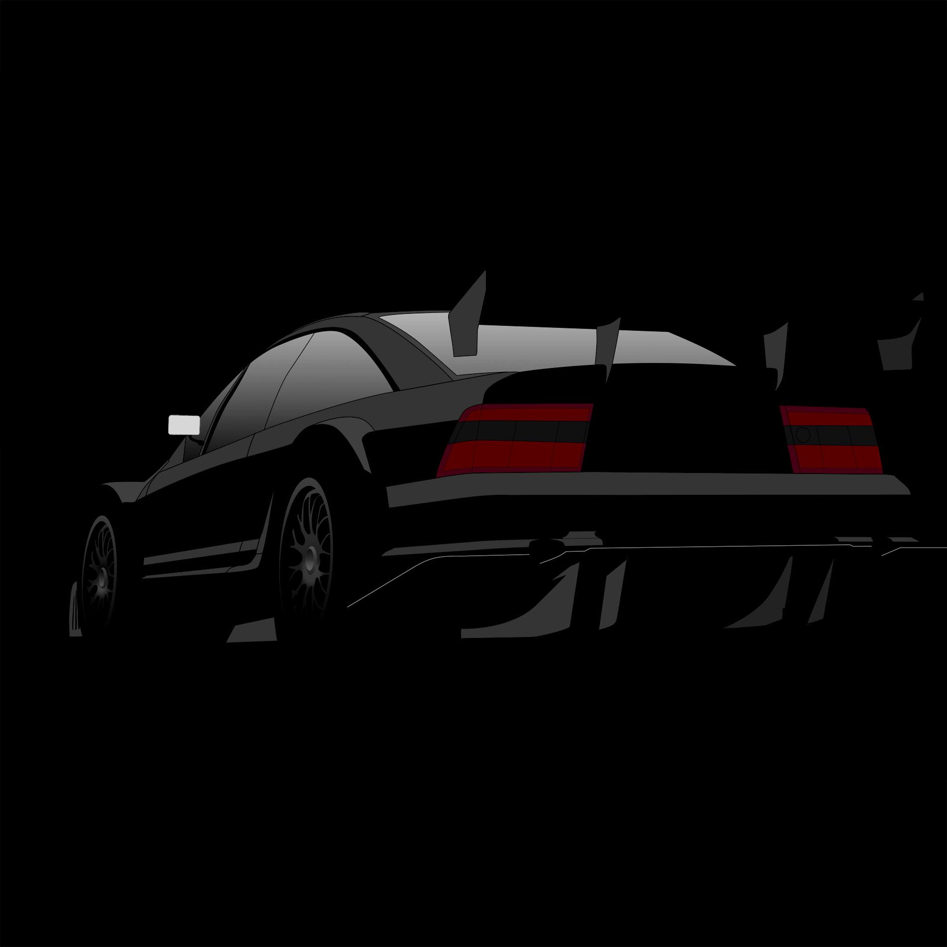 Opel Calibra V6 4×4 (DTM/ITC) – CARtoon – stegotoon