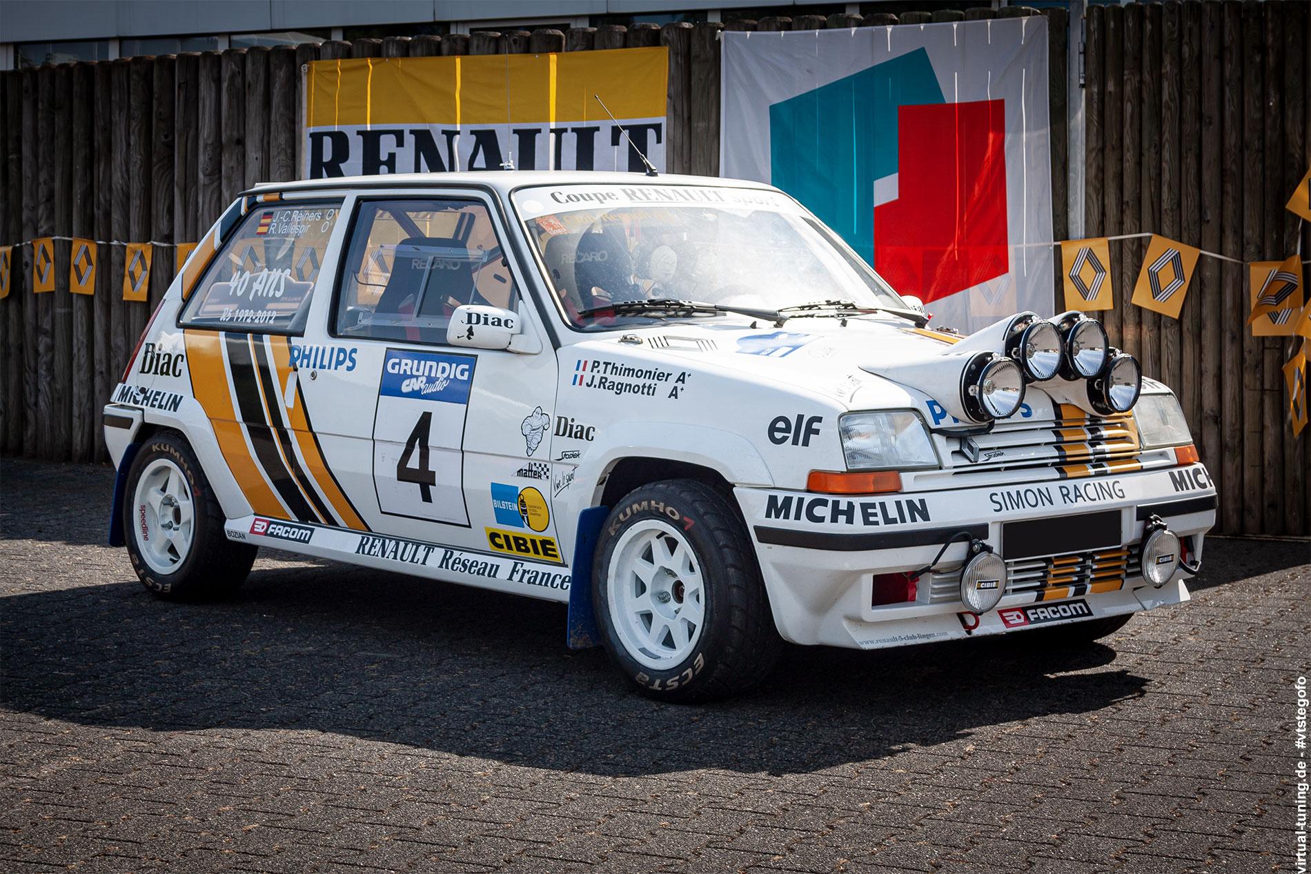 Renault 5 - Renault 5 Treffen in Dülmen (09.2012)