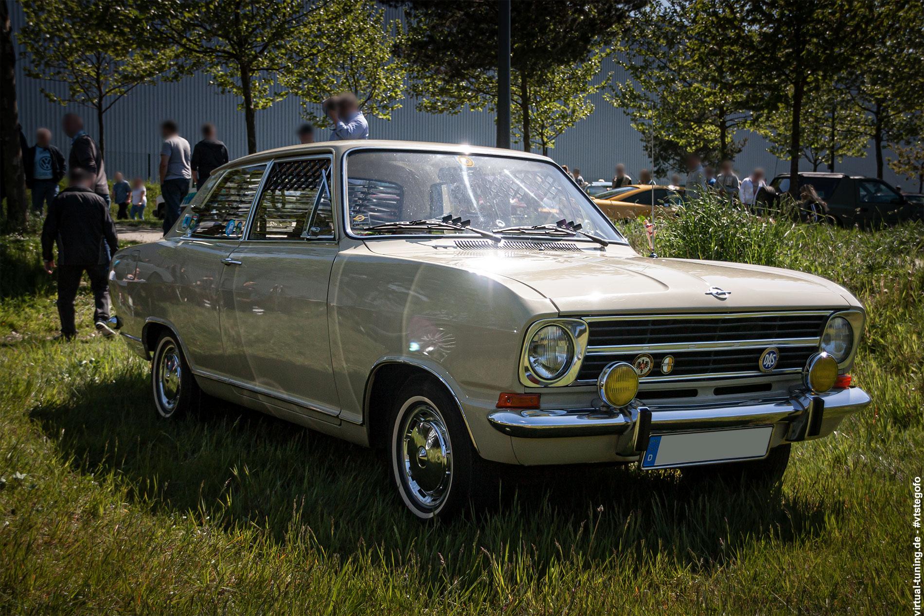 Opel Kadett B - Youngtimer Show (05.2015)