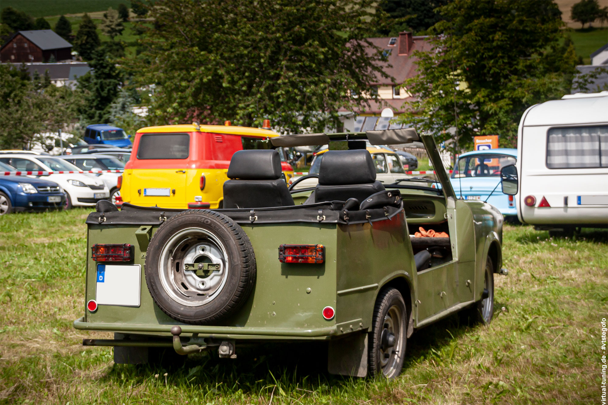 Trabant 601 Kübel - 4. Sadisdorfer ü30 Treffen (07.2021)