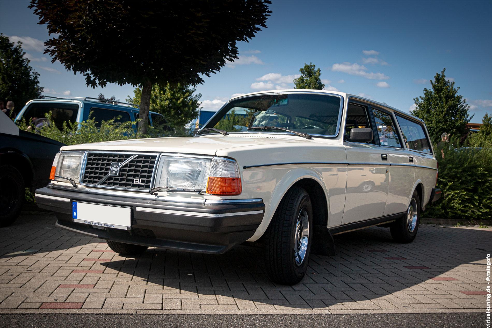 Volvo 245 - Altautotreff Dresden (07.2021)