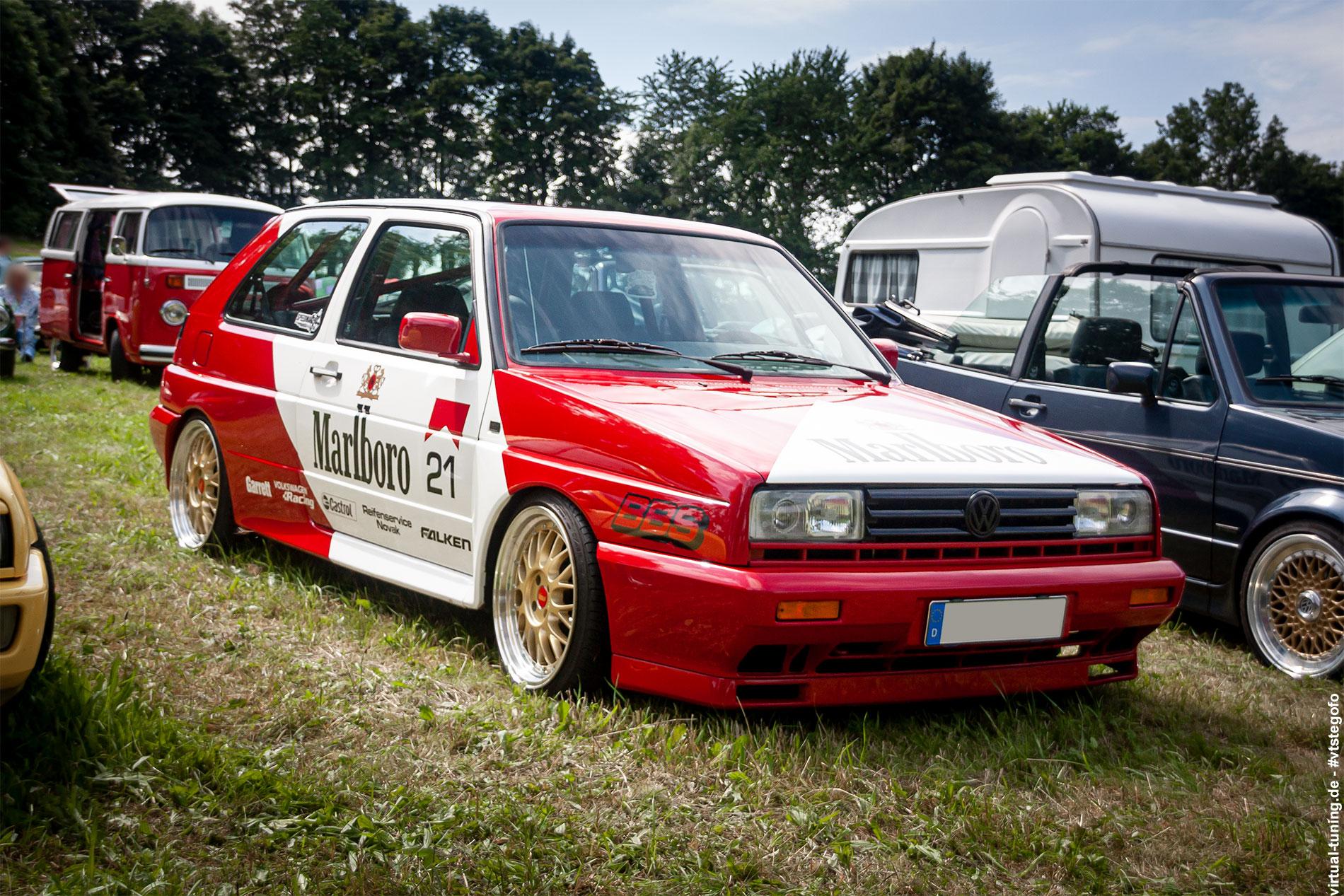 Volkswagen Rallye Golf - 4. Sadisdorfer ü30 Treffen (07.2021)